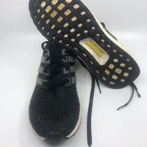 Adidas Ultra Boost Black Men's Sneakers Size 10